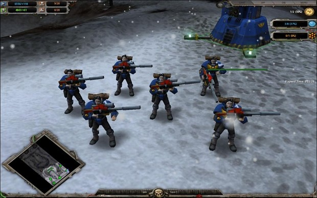 Space Marine Tactical Weapons