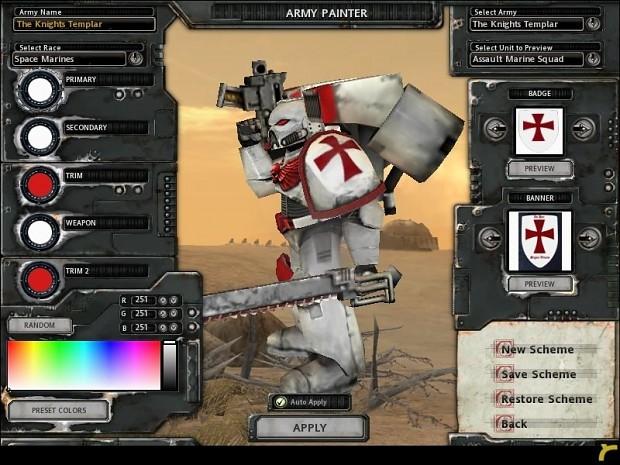 Knights Templar 2.0