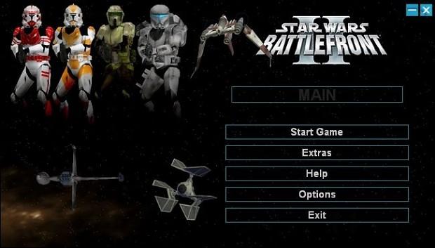 Sanyika's Battlefront II Launcher 1.1