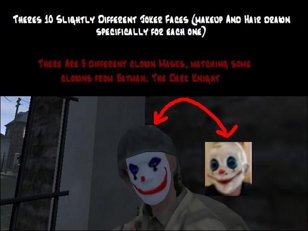 Bang's Joker & Clown Skins