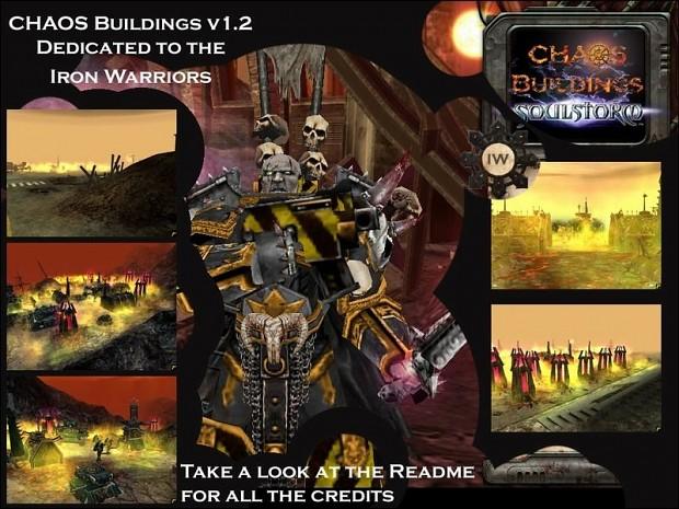 Chaos Buildings Iron Warriors 1.2