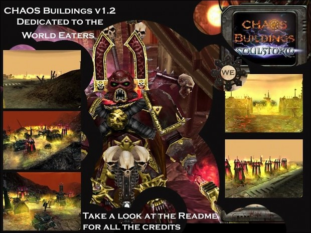 Chaos Buildings World Eaters 1.2