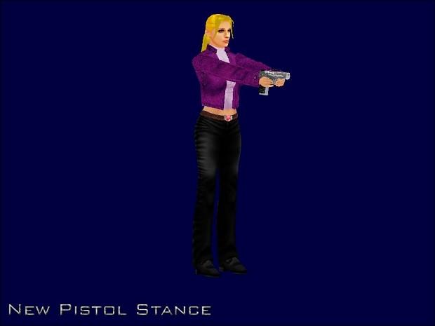 New Pistol Stance