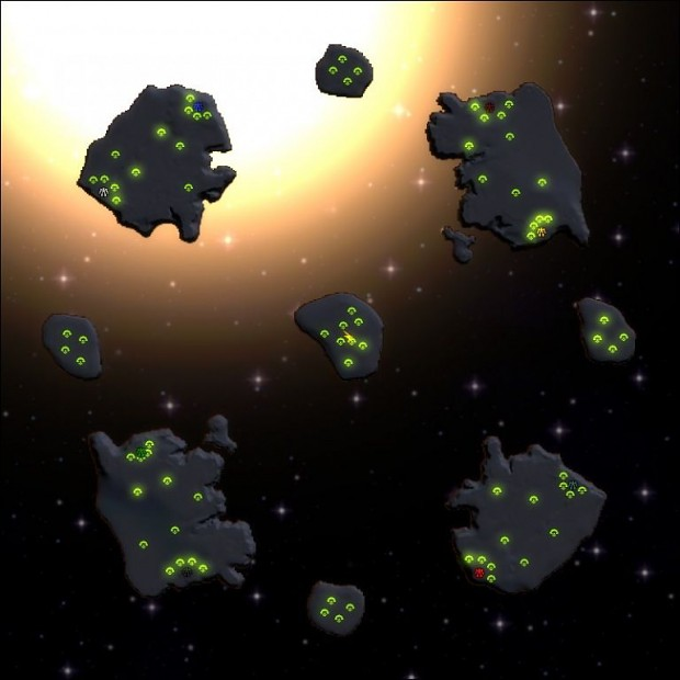 Asteroids (a space map)