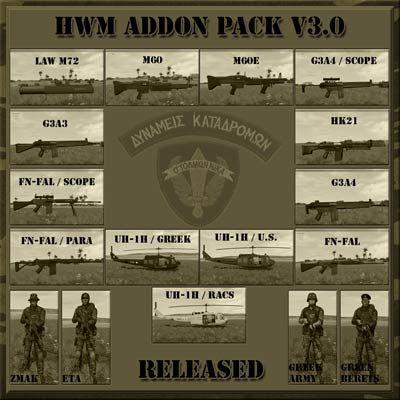 Hellenic Warfare Mod Addon Pack 3.0