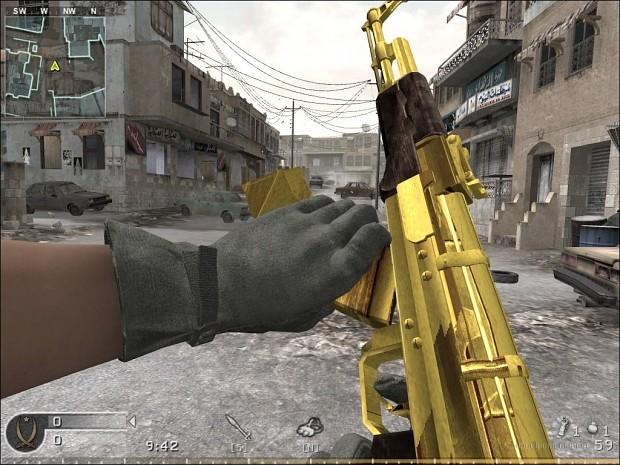 Gold AK-47 Reskin 1.0