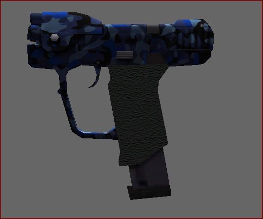 Blue Stinger Pistol