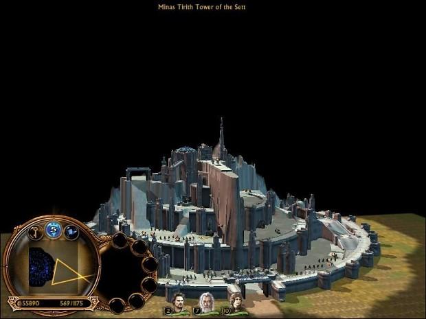 Minas Tirith Tower of The Setting Sun