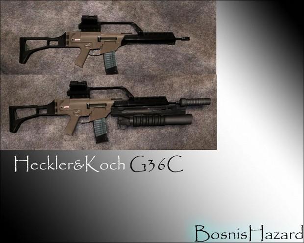 Heckler & Koch G36C 1.0 (Desert)