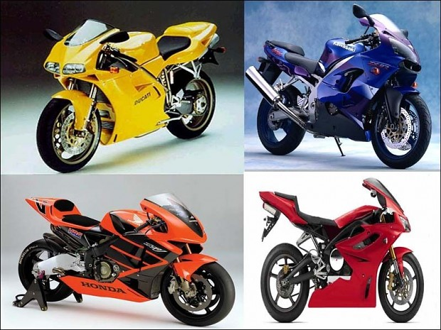 Assortment of Motorcycle Banners 1.0