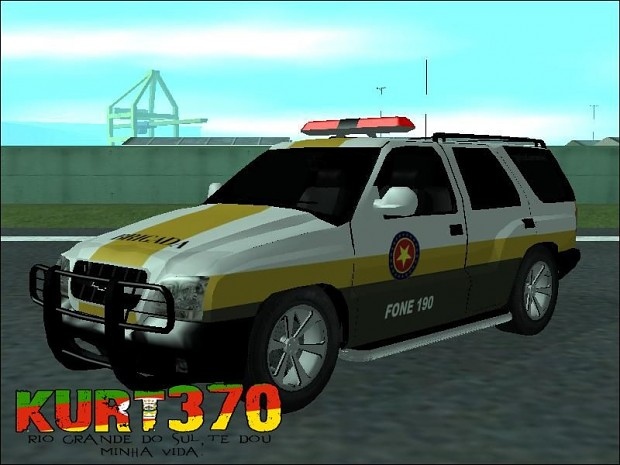 Chevrolet Blazer - Brazilian Military Police