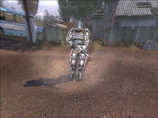 Jamies exoskeleton