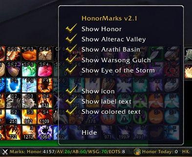 Titan HonorMarks 2.0.8
