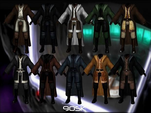 90SK's Jedi Master Robes