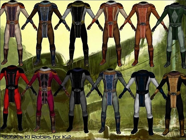 90SK's K1 Robes for TSL