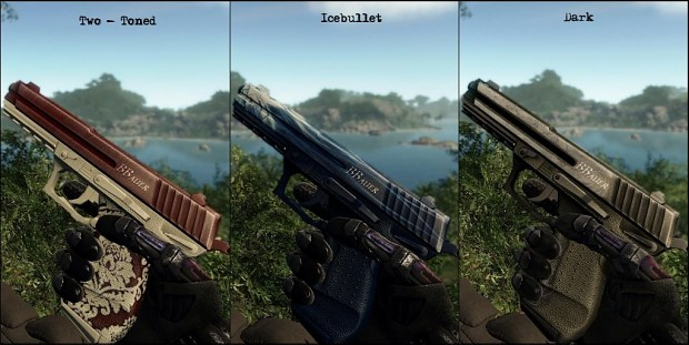 Crysis Pistol Skins