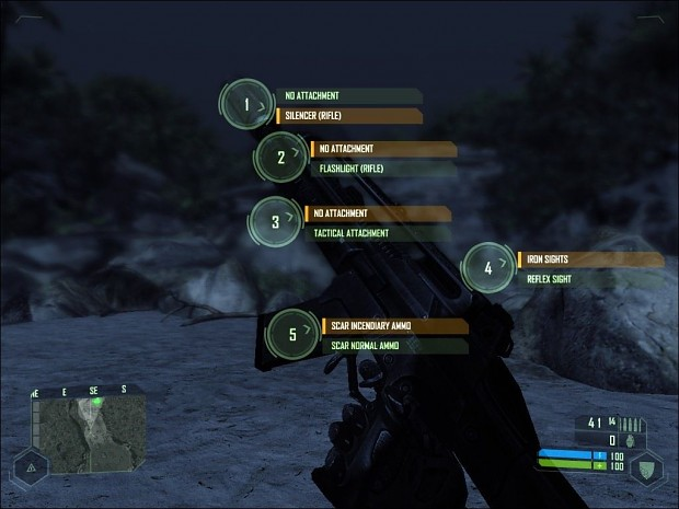SCAR - Incendiary Ammo