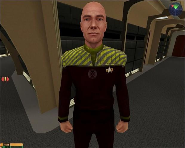 Picard Stripes Skin
