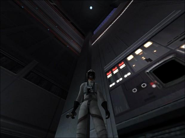 Rebel Pilot Reskin White/Black