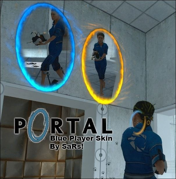 Blue Player Skin