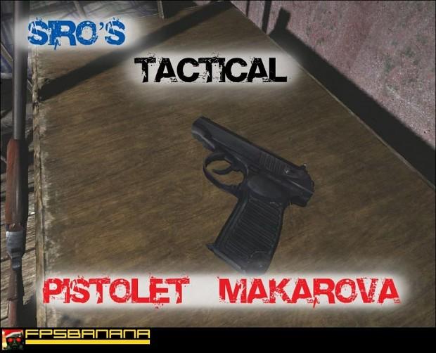 Siro's Tactical Pistolet Makarova Mod 1.1