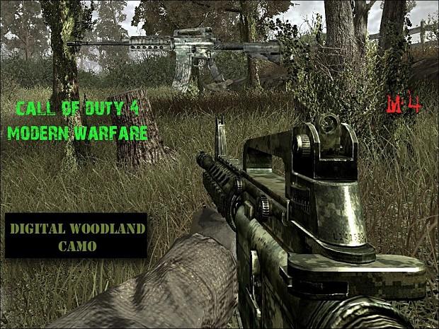 DC Woodland M4 Camo Pack 1.0