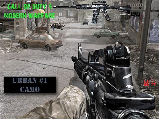DC Urban M4 Camo Pack 1.0