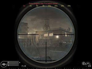 Sniper zoom mod