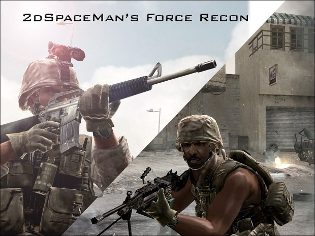 2dSpaceMan's Force Recon Skins