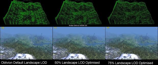 Optimised Landscape LOD MAX 0.9