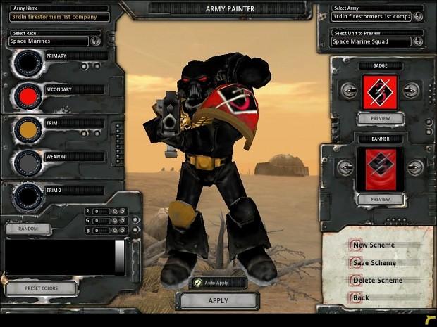 3rd Legion Noir: FireStormers Chapter Beta