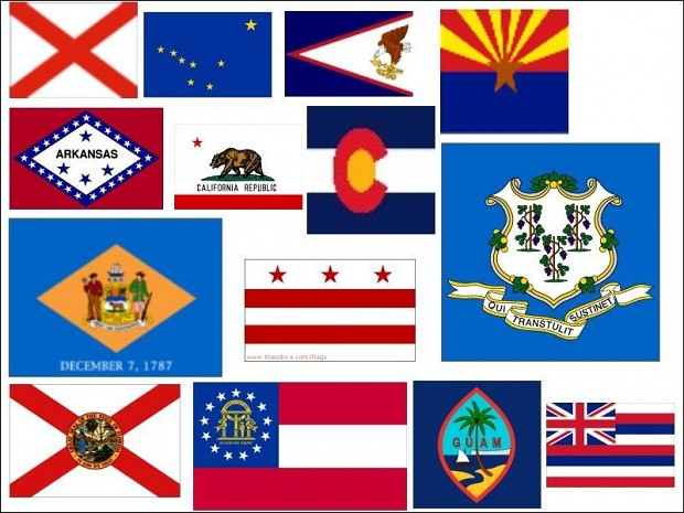 50 States Banners & Badges Pack