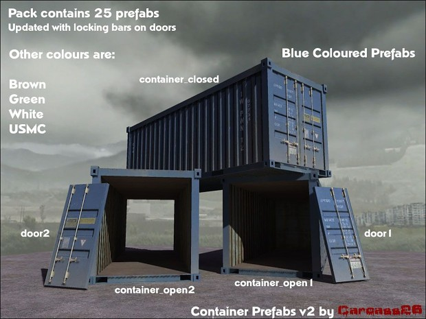 Container prefabs v2