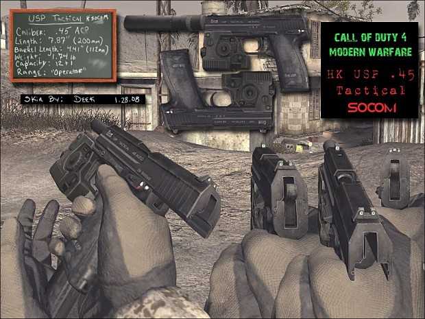 DC USP .45 Tactical SOCOM 1.0