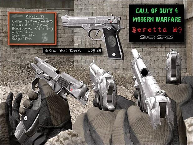 DC M9 Silver Beretta 1.0