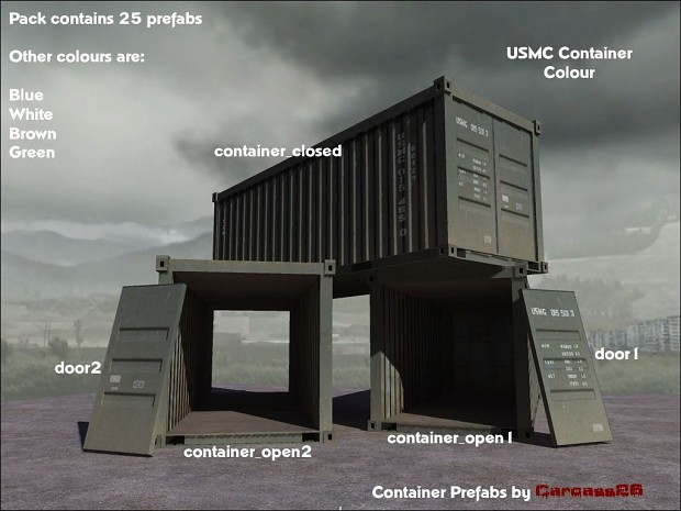 Container Prefabs