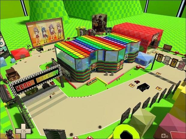 Mario Kart Map