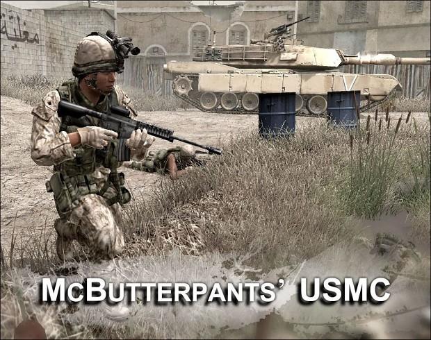 McButterpants' USMC Skins