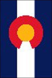 Colorado Flag Badge & Banner