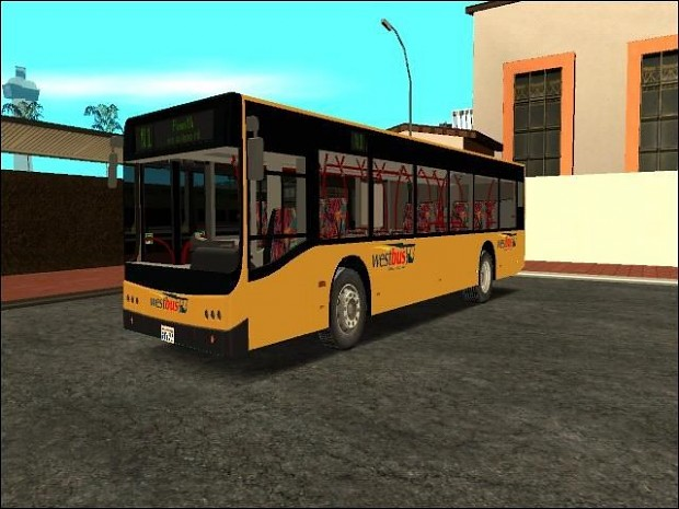 "Design-X N1 ""Hercules"" Westbus Skin"