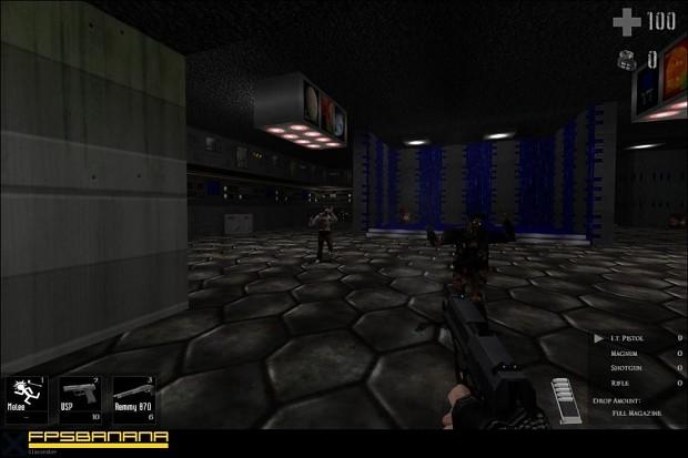 Zombie Panic: Source E1M1 Map