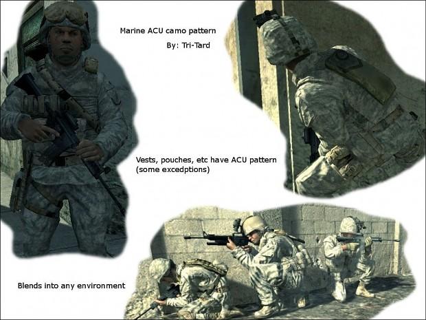 Tri-Tard's Marine ACU Skins
