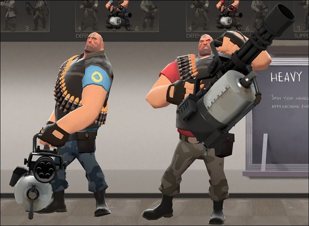 Heavy Weapons Guy Camouflage Skin