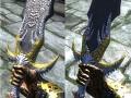 Dragon Knight Armor & Talon of the Silver Hawk Longsword 1.1