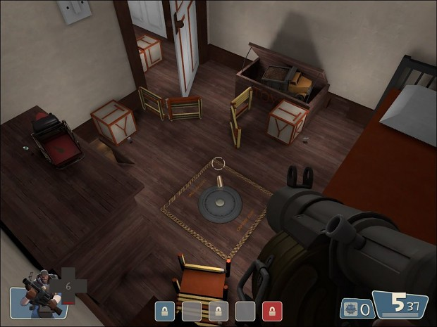 Team Fortress 2: CP Toy Fort Map Beta 2