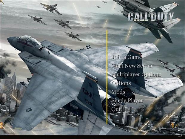 Ace Combat Menus