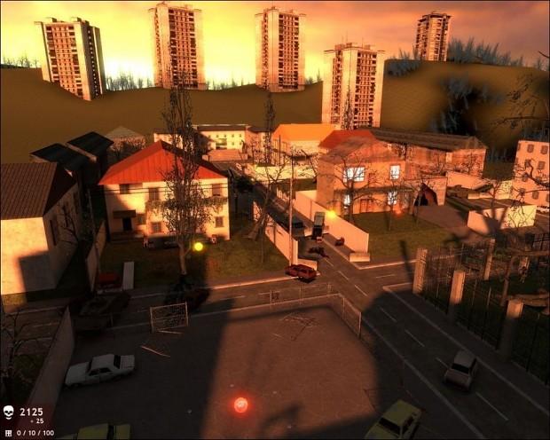 Zombie Master: Sunny Town Map (Beta 3)