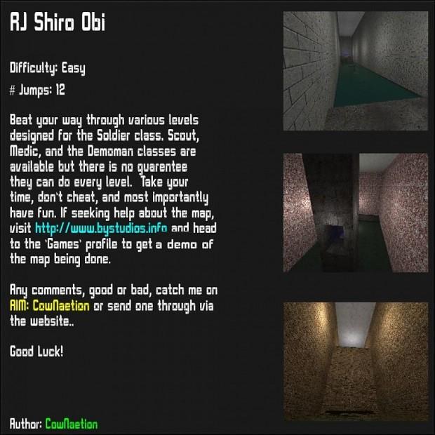 Fortress Forever: Rocket Jump Shiro Obi Map