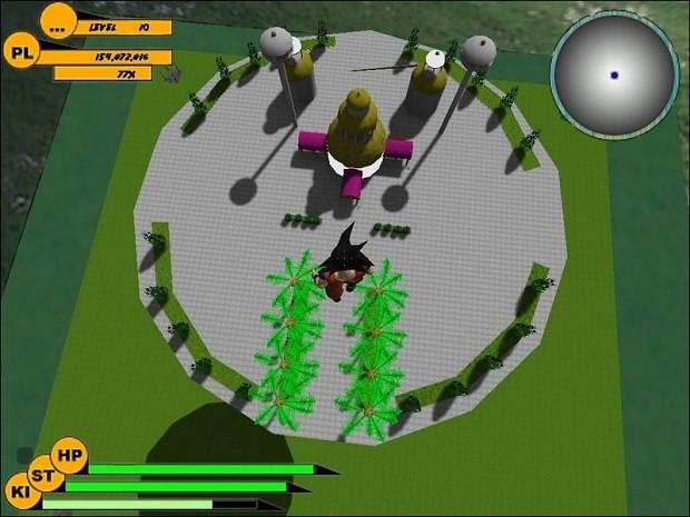 Dragonball: Source Gods Palace Map