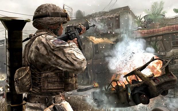 CO Death & Destruction CoD4 Weapons Mod